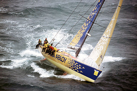 The whitbread  round the world race