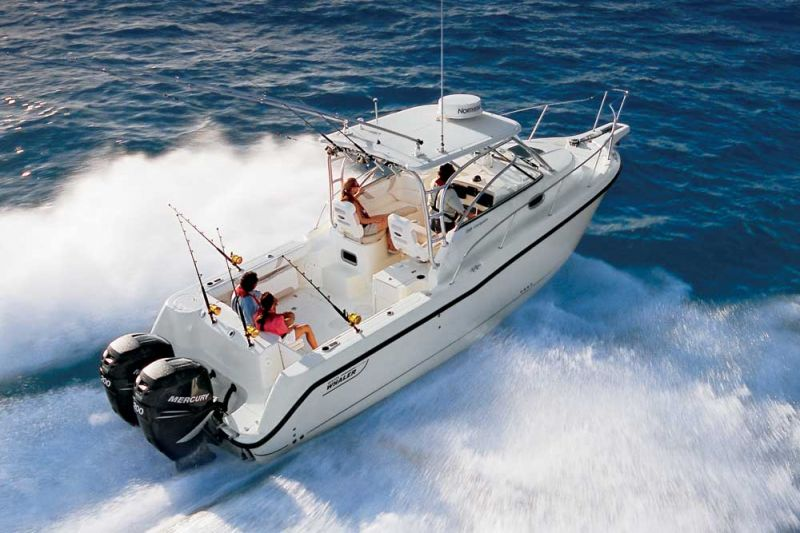 Друг рыбака Boston Whaler 285 Conquest