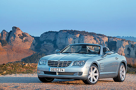 Новый Chrysler Crossfire Roadster