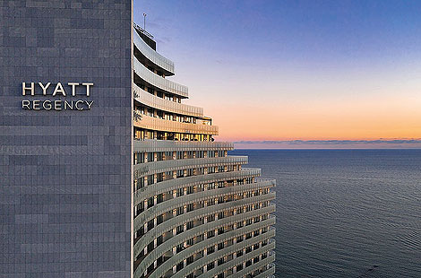 Осень в Hyatt Regency Sochi