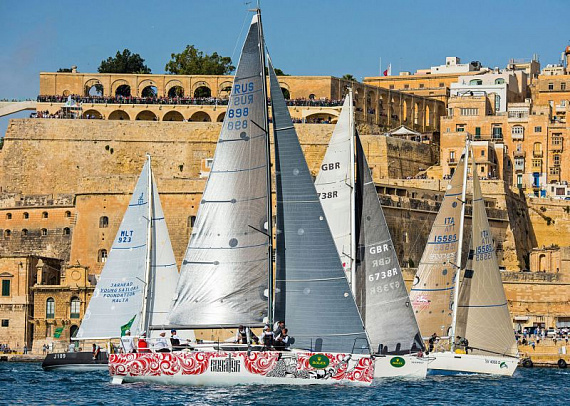 Rolex Middle Sea Race наш!_photo_1