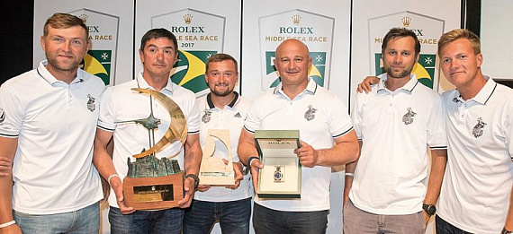 Rolex Middle Sea Race наш!_photo_4